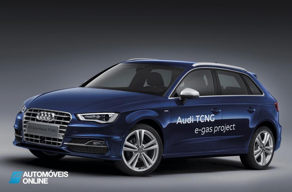 Audi! Constrói fábrica para produzir gás