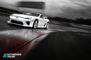 Lexus o LFA Nurburgring Package front left profile view