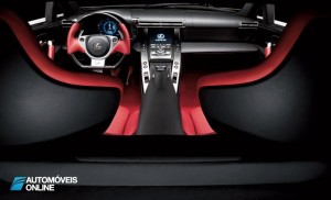 Lexus o LFA Nurburgring Package interior view