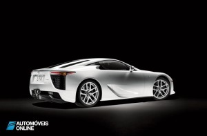Lexus o LFA Nurburgring Package right profile view