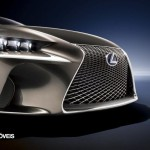 New Lexus IS 2013 front design view