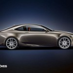 New Lexus IS 2013 profile view