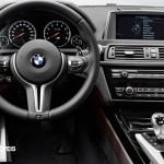 Novo BMW M6 Gran Coupé 560cv 2013 vista de volante