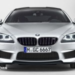 Novo BMW M6 Gran Coupé 560cv 2013 vista frente
