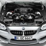 Novo BMW M6 Gran Coupé 560cv 2013 vista motor