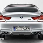 Novo BMW M6 Gran Coupé 560cv 2013 vista traseira