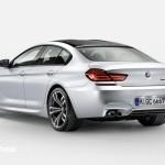 Novo BMW M6 Gran Coupé 560cv 2013 vista traseira esquerda