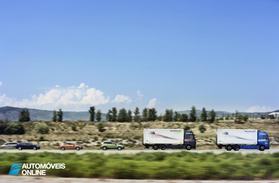 Volvo! Tecnologia pretende retirar o stress da condução em situações de fila