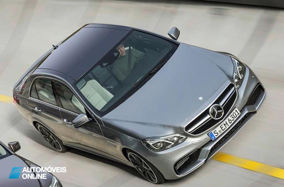 Bonito! Mercedes revela primeiras do novo E63 AMG