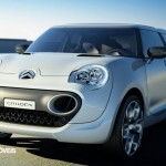 Citroen C-Cactus front left close view