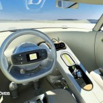 Citroen C-Cactus interior panel instruments view
