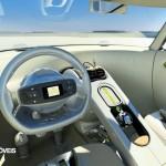 Citroen C-Cactus interior panel instruments view