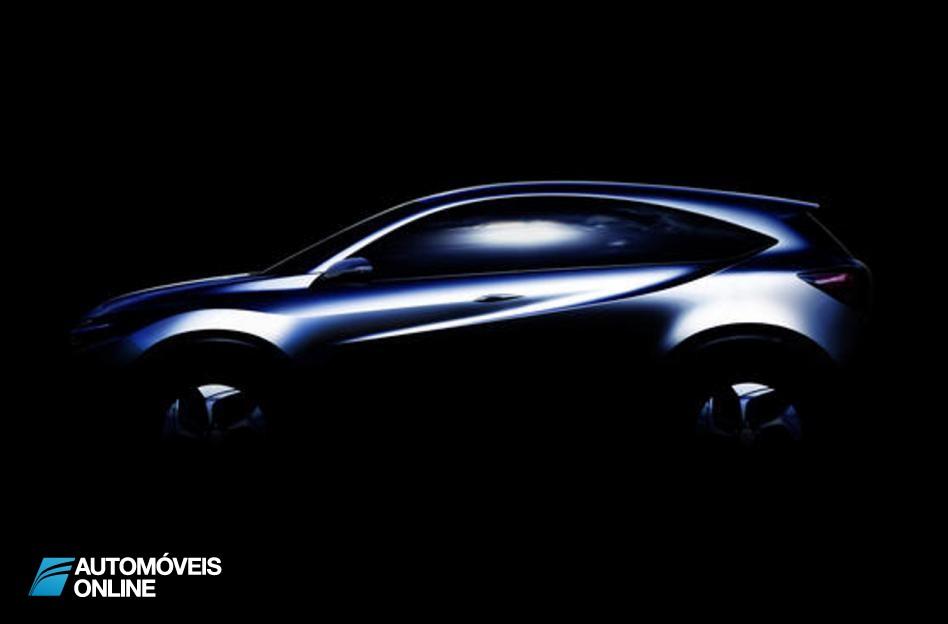 Fuga de informação da Honda! Primeiras imagens do protótipo Crossover da Honda