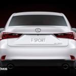 New Lexus IS 2013 Rear view