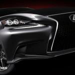 New Lexus IS 2013 Right corner fron view