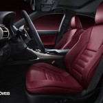 New Lexus IS 2013 front seets view