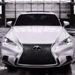 Primeiras fotos! Novo Lexus IS 2013