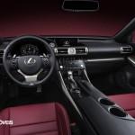 New Lexus IS 2013 interior view