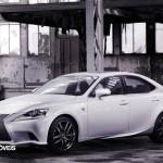 New Lexus IS 2013 profile view