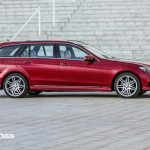 New Mercedes-Benz Classe E break right profile View