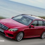 New Mercedes-Benz Classe E break top View