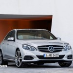 New Mercedes-Benz Classe E coupé front View