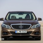New Mercedes-Benz Classe E front View
