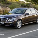 New Mercedes-Benz Classe E left profile front View