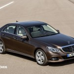New Mercedes-Benz Classe E right profile View