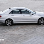 New Mercedes-Benz Classe E right profile grey View