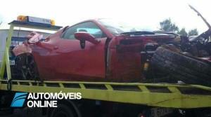 New ferrari 458 acidente viação perfil
