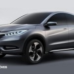 New prototype Honda Urban Suv 2013