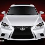 New Lexus IS 2013 front view