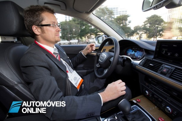 Soberbo! Sistema de condução automático da Audi já em 2016