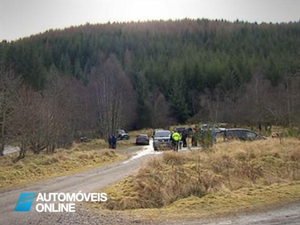 Rali na Escócia! Acidente grave mata mulher