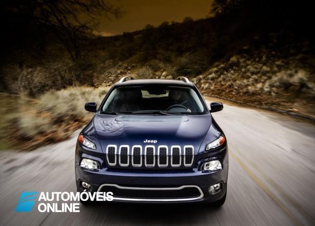 Aí está ele! Novo Jeep Cherokee 2013