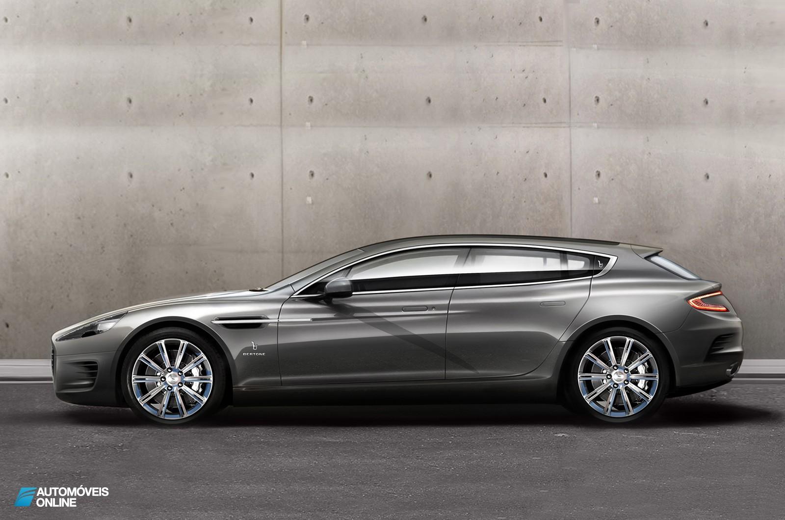 Agradável surpresa! Aston Martin Shooting Brake em Genebra