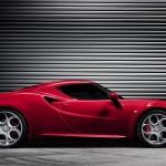 Alfa Romeu 4C Salao de Genebra 2013 profile view