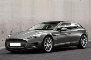 Aston Martin Shooting Brake Genebra 2013 front view