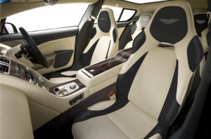 Aston Martin Shooting Brake Genebra 2013 interior view