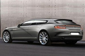 Aston Martin Shooting Brake Genebra 2013 rear view