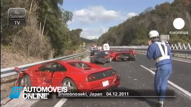 Este é que é o acidente mais caro de sempre no mundo automóvel. Só foram 3 Milhões de Euros!