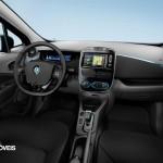 New Renault Zoe interior 2013 electric