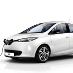New Renault Zoe left front 2013 electric
