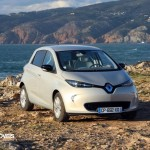 New Renault Zoe real front view 2013 electric