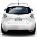 New Renault Zoe rear 2013 electric