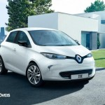 New Renault Zoe right front 2013 electric