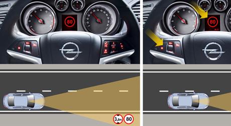 Tecnologia nos Automóveis, quais são e para que servem Leitor de Sinais de trânsito de velocidade máxima