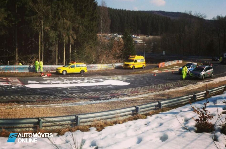 Circuito de Nurburgring encerra! O culpado foi um Graffiti obsceno.