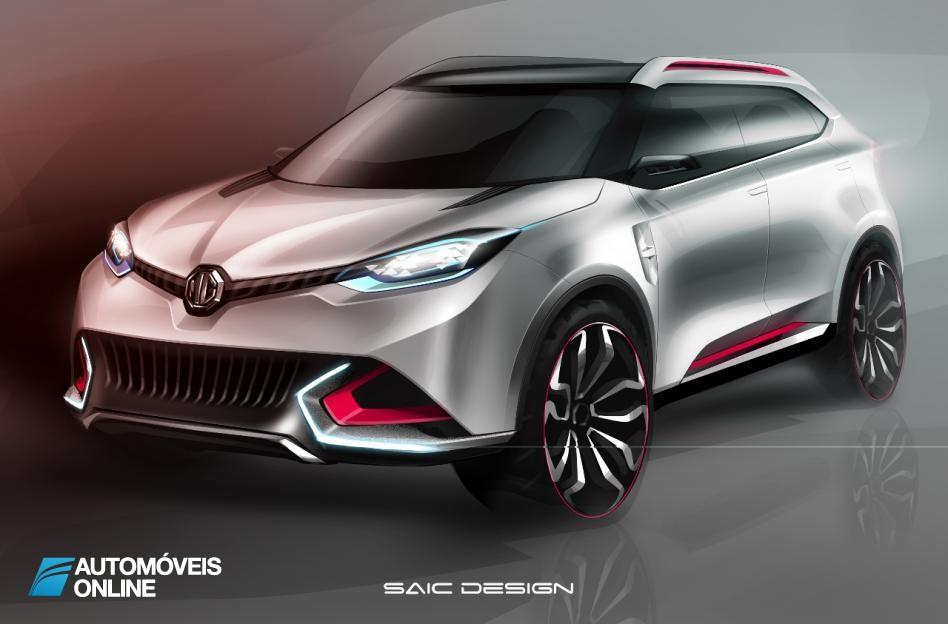 Está de volta a mística MG! Veja em primeira mão o Protótipo de Crossover Concept CS